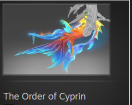 The Order of Cyprin (Immortal TI8 Naga Siren)