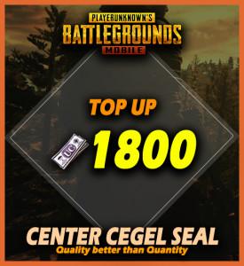 Top Up 1800 UC