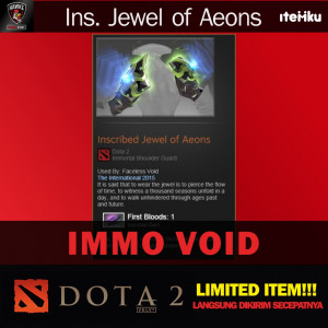 Inscribed Jewel of Aeons (Immortal Faceless Void)