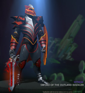 Sword of the Outland Ravager (Dragon Knight)