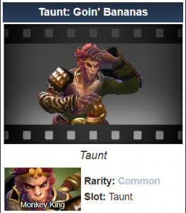 Taunt: Goin' Bananas (Monkey King Taunt)