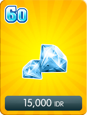 Top Up 60 Diamonds