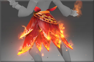 Genuine Fire Lotus Belt