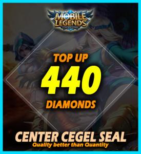 Top Up 440 Diamonds