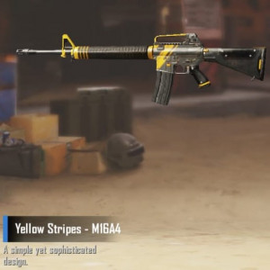 Yellow Stripes - M16A4