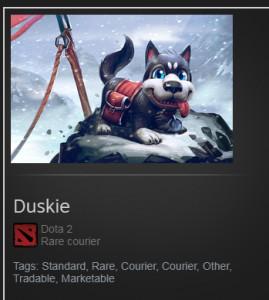 Duskie   ( courier )
