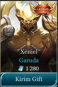 Skin Legend Xeniel Garuda