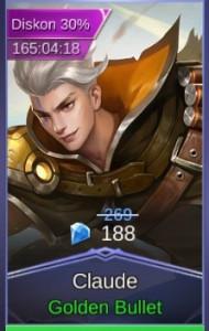 Golden Bullet (Skin Claude)