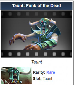 Taunt: Funk of the Dead (Undying)