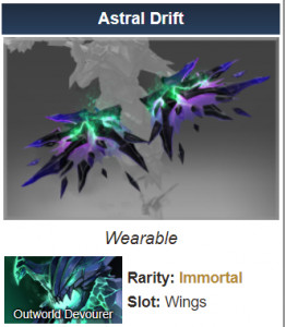 Astral Drift (Immortal TI8 Outworld Devourer)