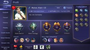 41 Hero + 20 Skin ( Allunbind + Mantap )