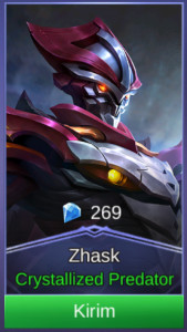 Crystallized Predator (Skin Zhask)