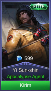 Apocalypse Agent (Elite Skin Yi Sun-shin)