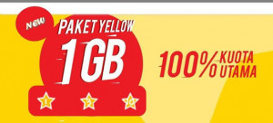 PAKET YELLOW 1GB