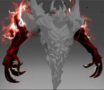 Inscribed Arms of Desolation (Immortal Shadow Fiend)