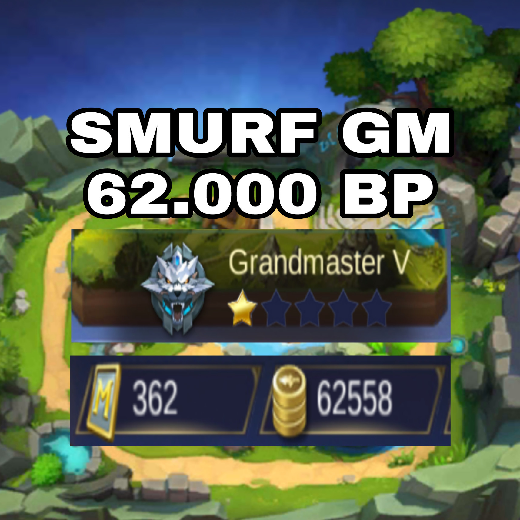Smurf GM, BP Banyak, Hero Epic, Sultan