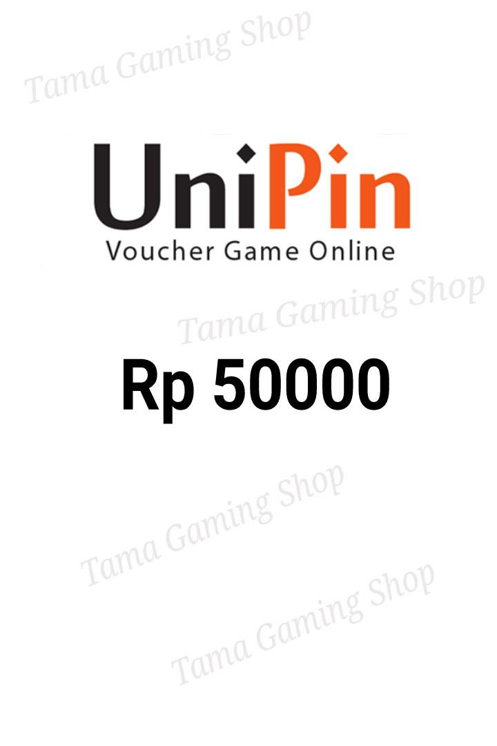Voucher Unipin 50000