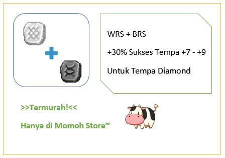 White Rune Stone WRS + Black Rune Stone BRS