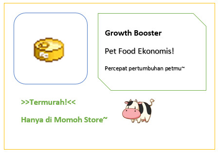 Growth Booster (Makanan Pet)