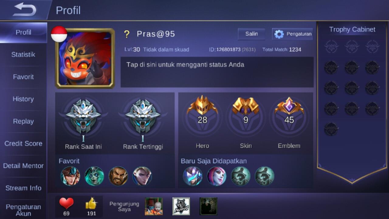 Level 30/hero 28/skin 9