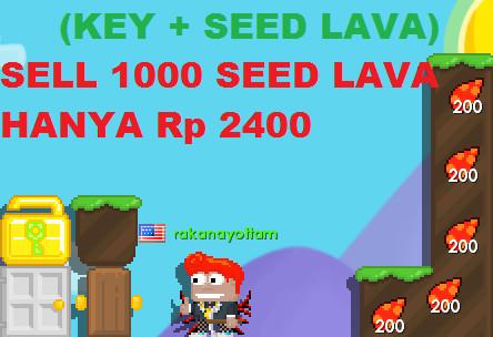 SELL SEED LAVA 1K + WORLD KEY
