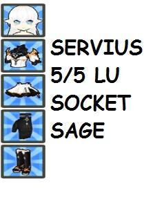 White Dragon Servius LU 5/5
