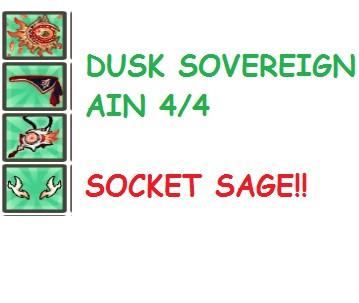 Dusk Sovereign Ain 4/4(Weap+3 Accesory)