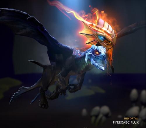Pyrexaec Flux (Immortal TI8 Jakiro)