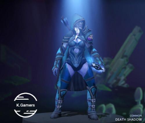 Death Shadow (Drow Ranger Set)