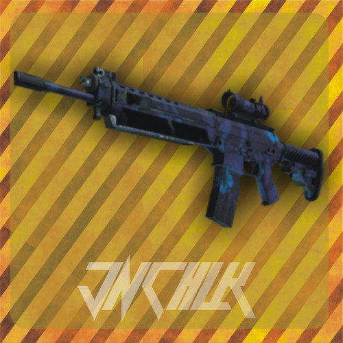 SG 553 | Aloha (Field-Tested)