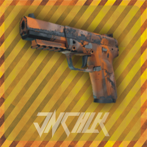Five-SeveN | Orange Peel (Well-Worn)