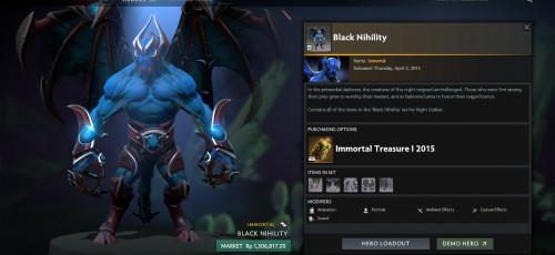 Inscribed Black Nihility (Immortal Night Stalker Set)