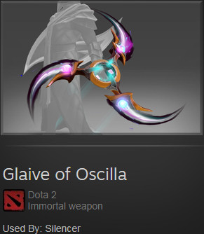 Glaive of Oscilla (Immortal Silencer)