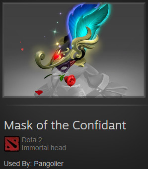 Mask of the Confidant ( Immortal Pangolier )