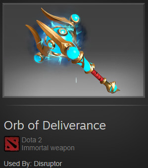 Orb of Deliverance (Immortal Disruptor)