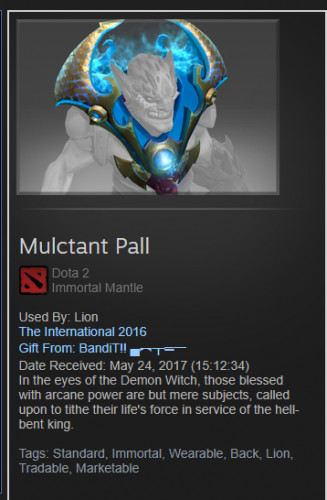 Mulctant Pall (Immortal Lion)
