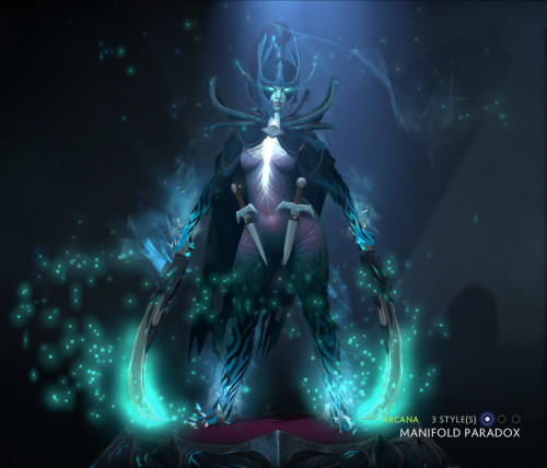 Inscribed Manifold Paradox (Arcana Phantom Assassin)
