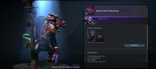 Spoils of the Vodou Rover (Bundle Witch Doctor)