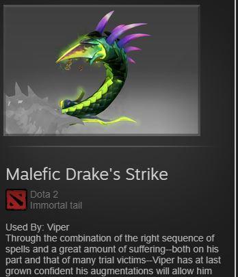 Malefic Drake's Strike