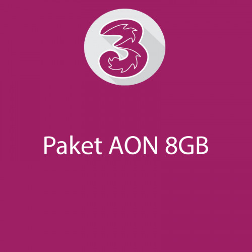 AON 8GB 360hari+16GB 4G 30hari