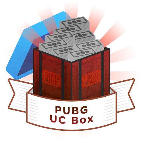 Mystery Box PUBG UC Box