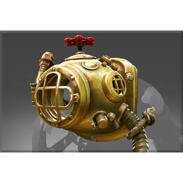 Genuine Golden Floodmask (Immortal Tidehunter)