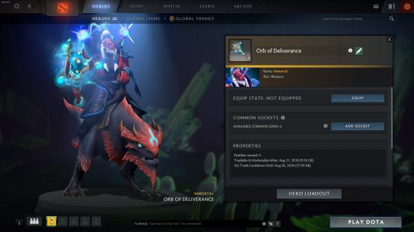 Orb of Deliverance (Immortal Disruptor)
