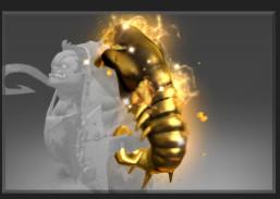 Golden Scavenging Guttleslug (Immortal TI7 Pudge)