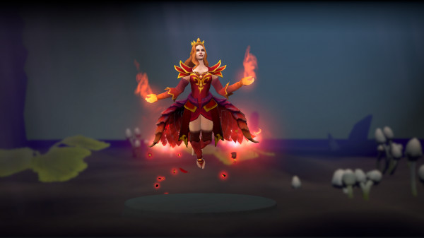 Wyrmwrought Flare (Immortal TI7 Lina)