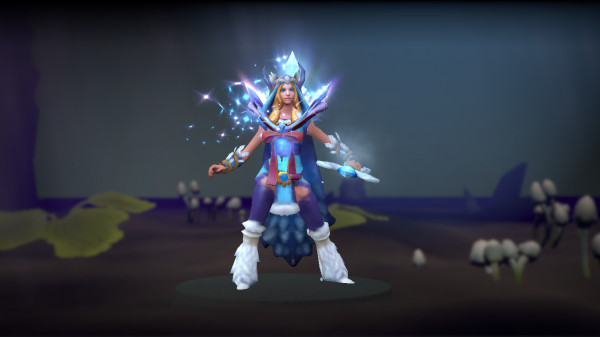 Yulsaria's Mantle (Immortal TI7 Crystal Maiden)