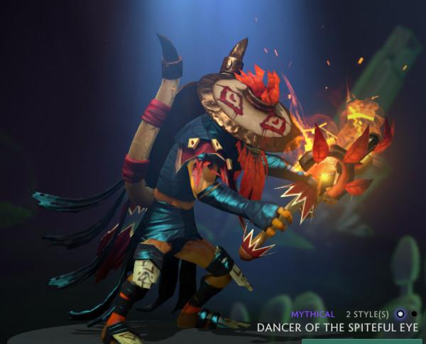 Dancer of the Spiteful Eye (Shadow Shaman Set)