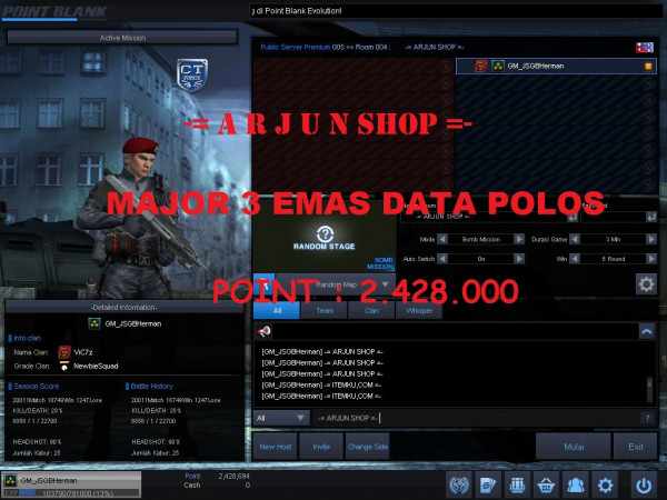 Col. Grade 5 / M3 GOLD FT FC Data ALL Polos Mantap
