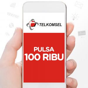 TSEL Rp.100.000 (REGULER)
