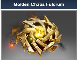 Golden Chaos Fulcrum (Immortal TI7 Chaos Knight)